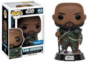 Pop 153 Saw Gererra Rogue One Wlmt Excl