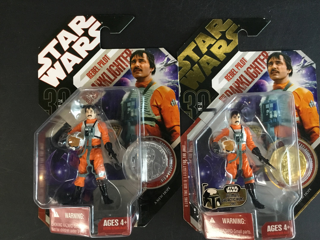 Rebel Pilot Biggs Darklighter 14 30th ANH 2007