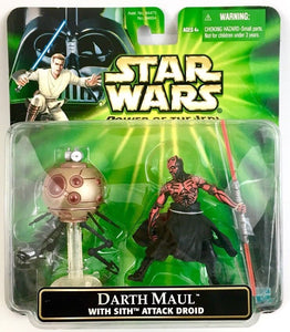 Darth Maul with Sith Attack Droid POTJ