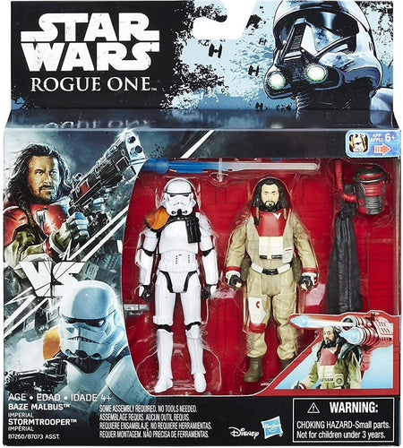 Baze Malbus and Imperial Stormtrooper 2Pk Rogue One 2016