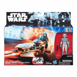 Imperial Speeder w AT-DP Pilot Rogue One 2016