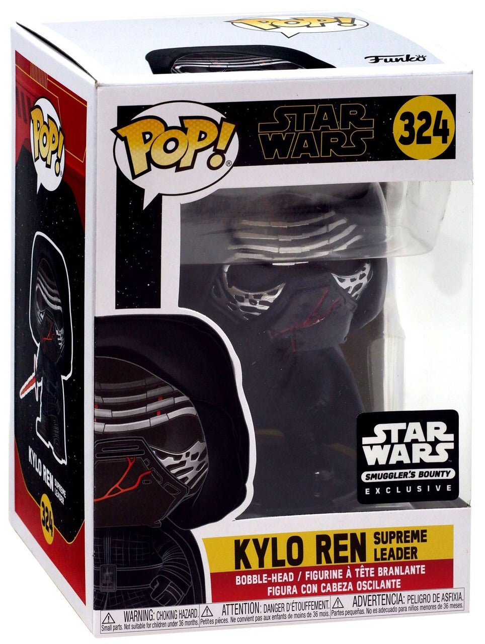 Pop 324 Kylo Ren Supreme Leader