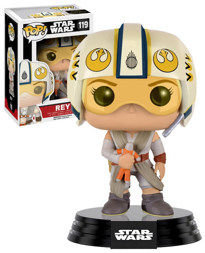 Pop 119 Rey (Pilot) TFA GS Excl