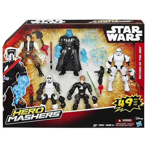 Hero Mashers Return of the Jedi 5 figures set