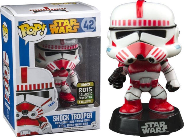 Pop 42 Shock Trooper 2015 Galactic Conv Excl (in case)