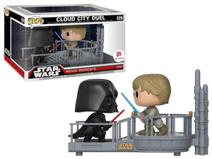 Pop 226 Cloud City Duel Wlgn Excl Luke & Darth