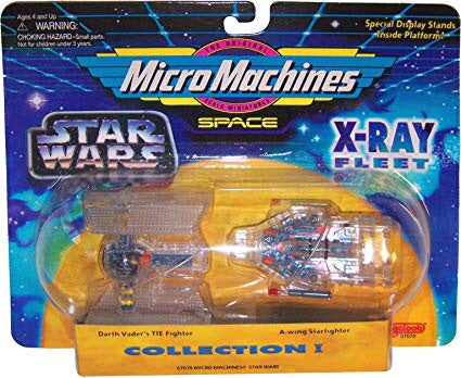 MicroMachines Space X-Ray Fleet Coll1 1995