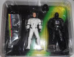Luke in Stormtrooper Gear & Darth Vader POTF