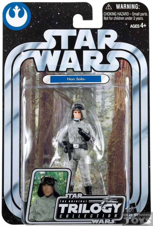 Han Solo in AT-ST Driver disguise OTC35 ROTJ Trilogy 2004