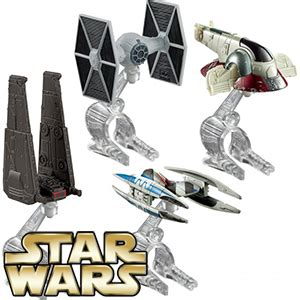 HW Villain Starship 4-Pack
