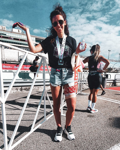 Fenella Langridge, after the race in Miami