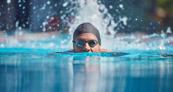 Jan Frodeno Swimming with THEMAGIC5 Goggles