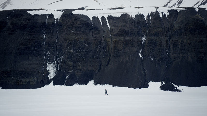 Running Svalbard - Half Ironman by Anders Hofman