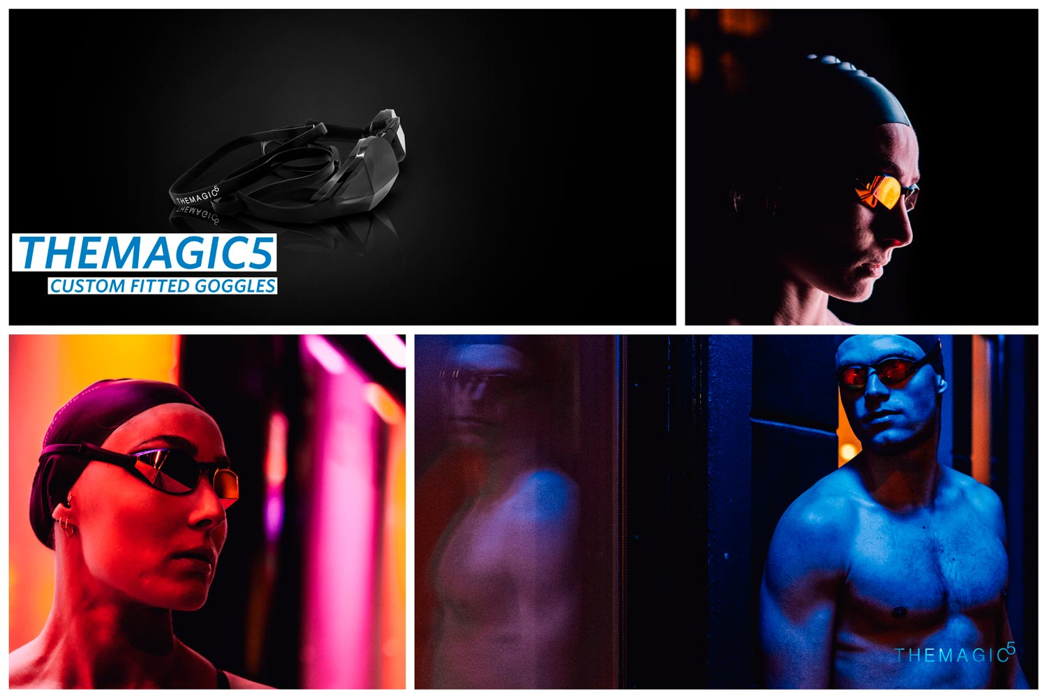 TheMagic5 - Custom Fitted Goggles