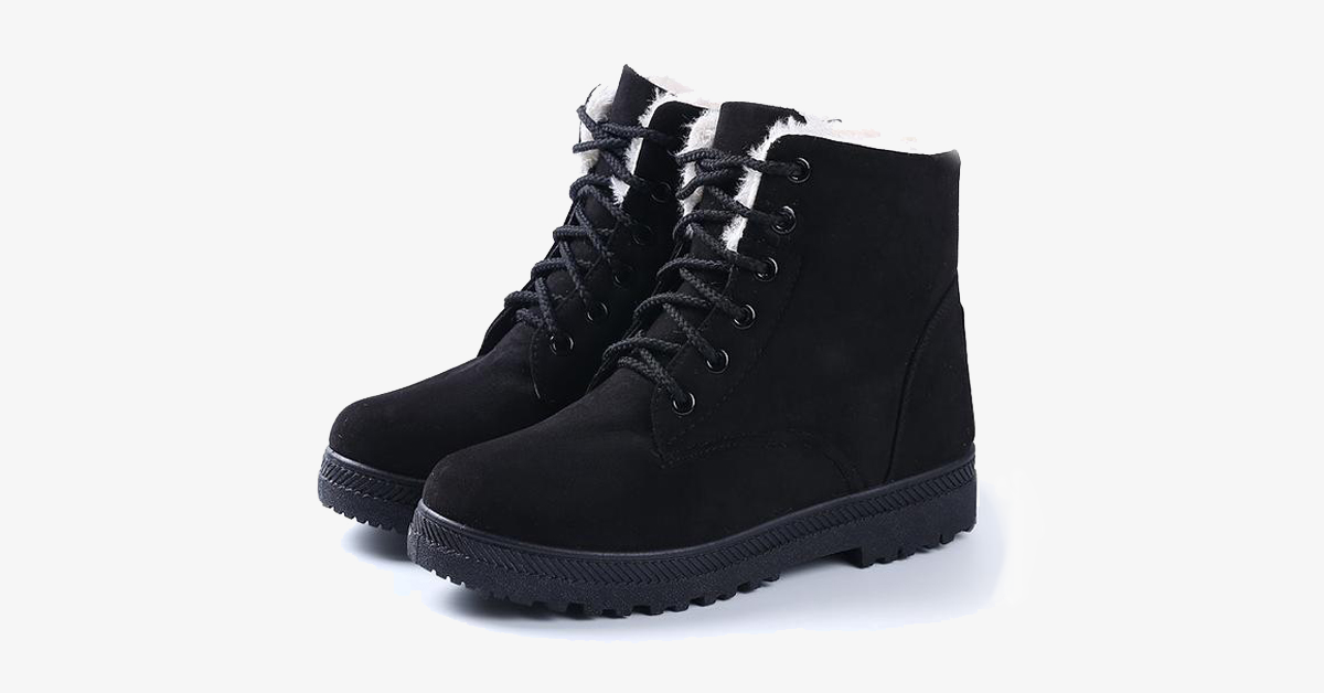 Comfy Warm Boots For Women