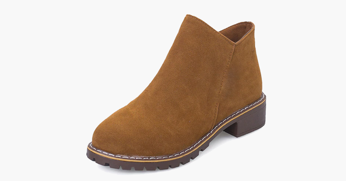 Suede Martin Boots - 50% Off - Limited Time Sale