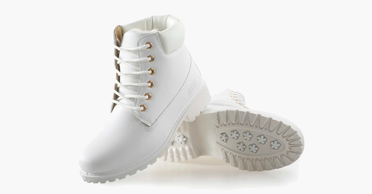 White Winter Boots