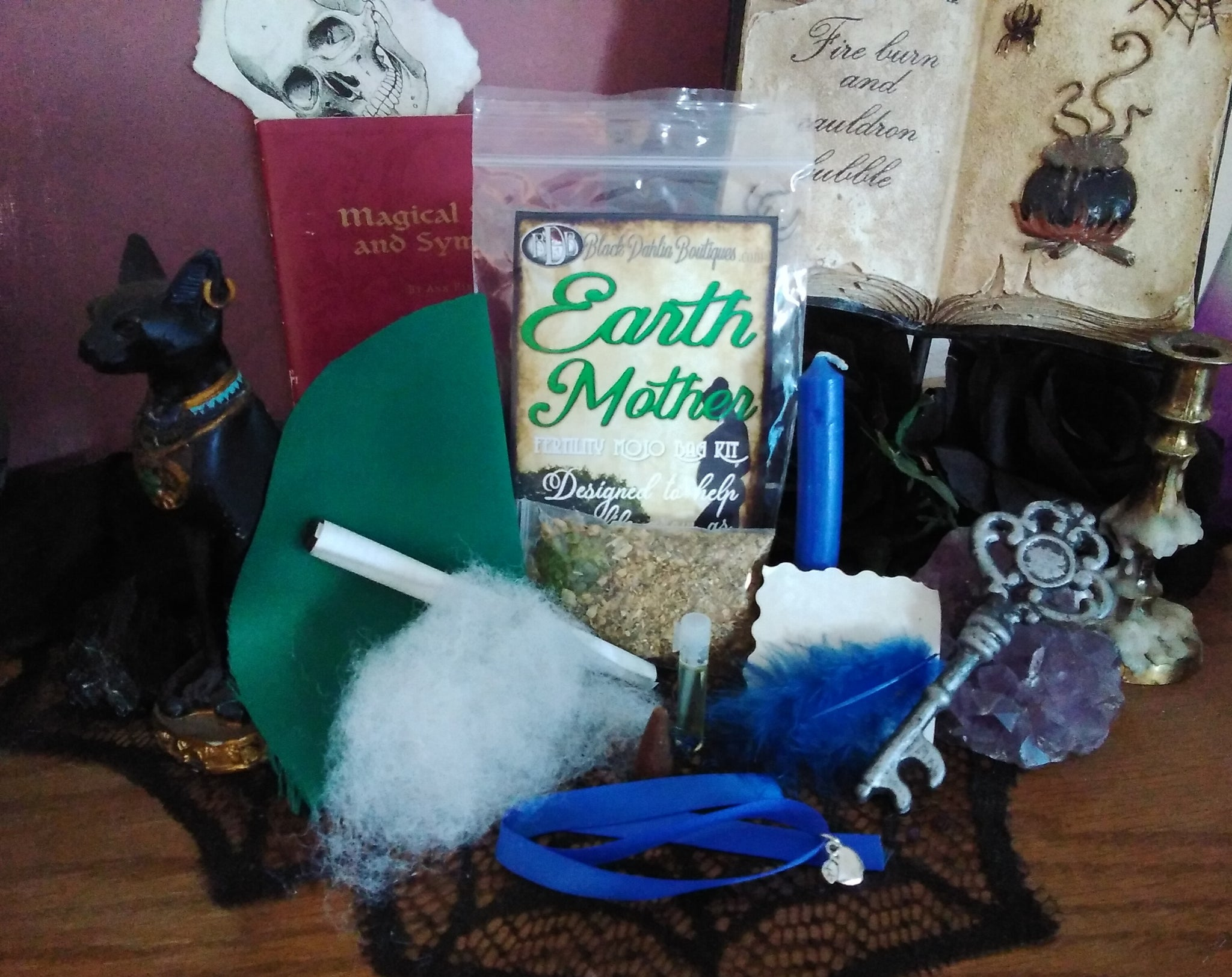 Earth Mother Fertility Mojo Bag Kit