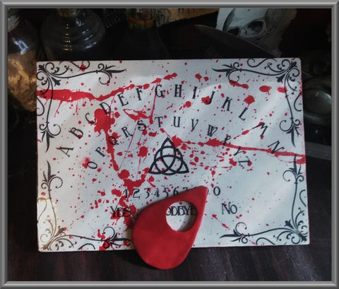 Blood Spatter Spirit Board