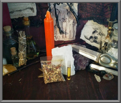 Candle Spell Kit for Communication, Inspiration