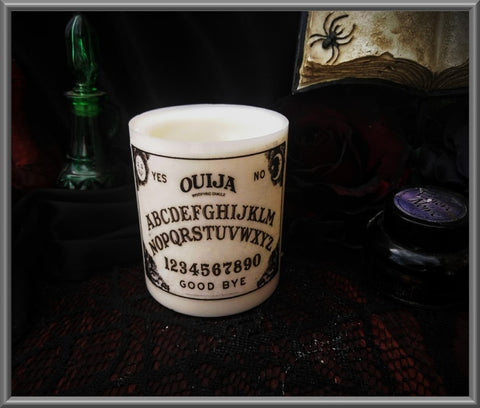 Ouija Board Wax Tea Light Holder