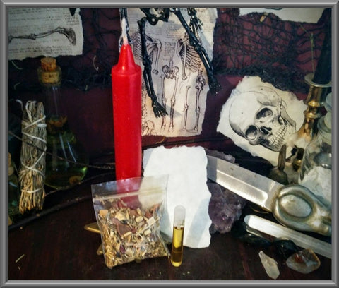 Candle Spell Kit for Love, Passion, Empowerment
