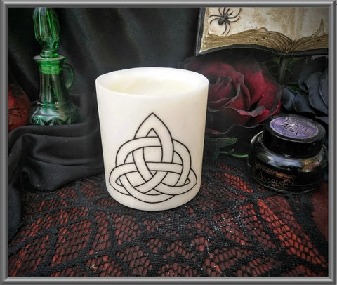 Triquetra Wax Tea Light Holder