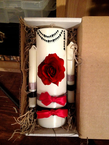 HANDFASTING & WEDDING Unity Candle Set