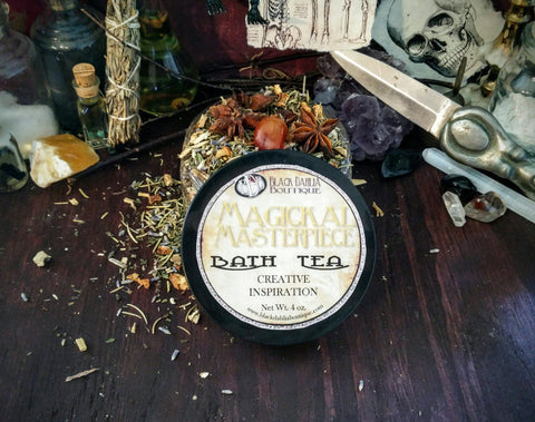 Magickal Masterpiece Bath Tea for Creative Inspiration and Studying