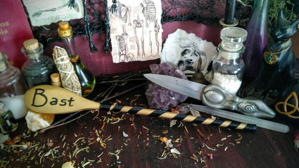 BAST Decorative Spoon/ Kitchen Witch Wand