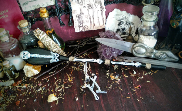 Calypso Decorative Spoon/ Kitchen Witch Wands