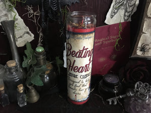 Beating Heart Love & Romance Conjure Candle