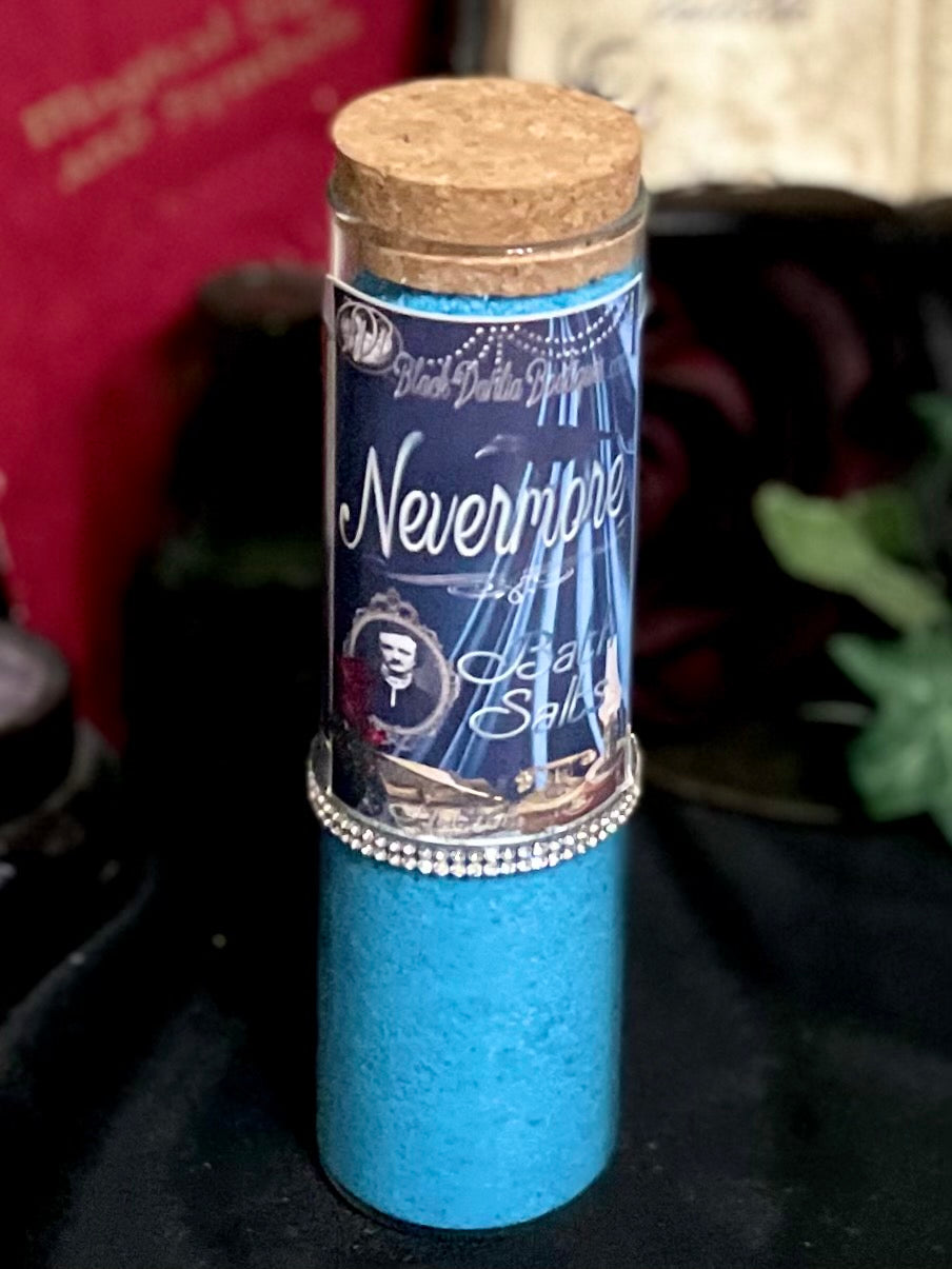 Nevermore Gothic Bath Salts, Tube