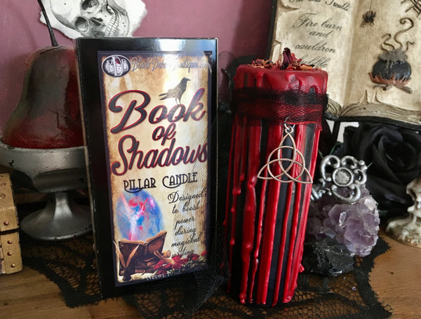 BOOK OF SHADOWS Spell Pillars - Brings Power to Magickal Writings