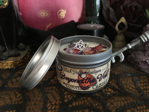 Beyond the Veil Mediumship Spell Candle Tin