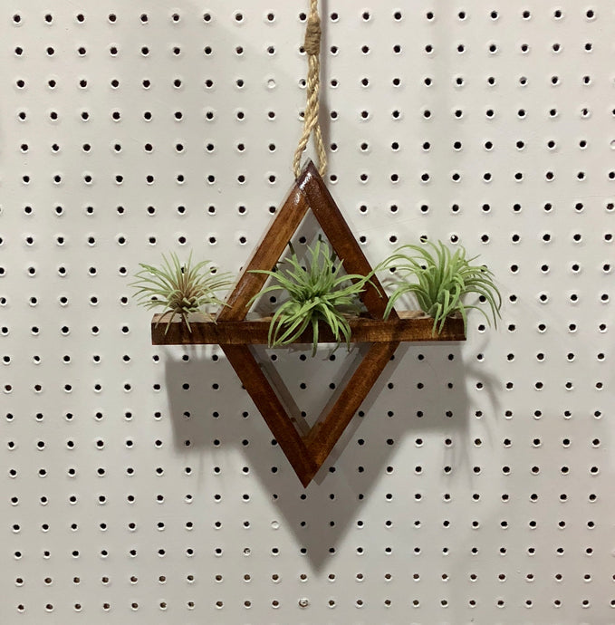 Diamond Hanging Air Plant Holder