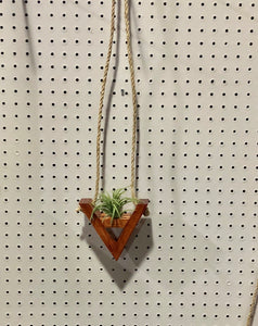 Inverted A Hanging Air Plant Holder