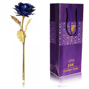 24k Gold Dipped Rose For Lovers Gift Kids Now Apparel