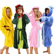 Animal Hooded Towel For Kids Bathrobe For Toddler Robes Kids Now Apparel