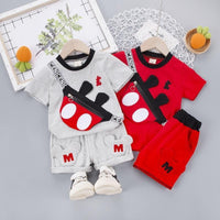 Baby Boy Outfit Sets Cartoon Character Clothes Clothing Sets Kids Now Apparel