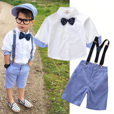 Baby Boy Summer Clothing Toddler Boys Outfit Set Clothing Sets Kids Now Apparel