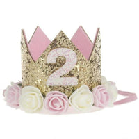 Baby Flower Crown Headband Kids Now Apparel