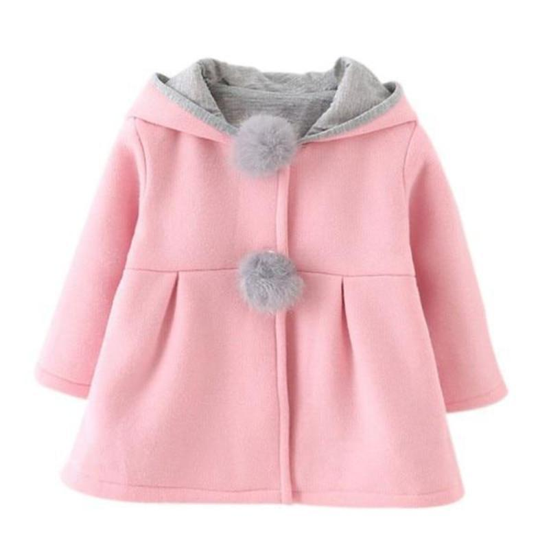 9cfcbea74189 Hoodie With Ear Toddler Girl Jacket