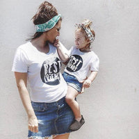 Best Friend Print Mother Daughter Matching Tees Kids Now Apparel