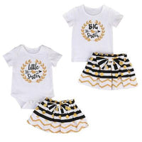 Big & Little Sisters Matching Outfits, 2 pcs Kids Now Apparel
