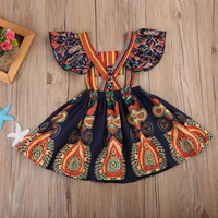 Boho Floral Dresses Hollow Out Backless Dress Dresses Kids Now Apparel