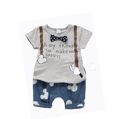 Boys Outfit T Shirt + Mouse Pant Kids Now Apparel