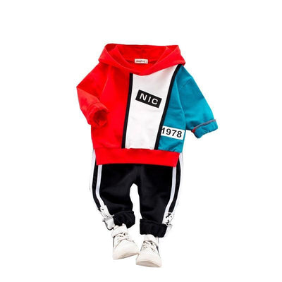 Boys Tracksuits Kids Hoodies + Pants With Pockets Clothing Sets Kids Now Apparel