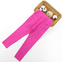 Candy Color Stretchable Girls Toddler Skinny Jeans Kids Now Apparel