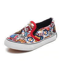 Canvas Sneakers Slip On Flats Kids Comic Shoes Sneakers Kids Now Apparel